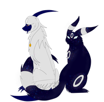 Glass and Cosmic by GlassTheAbsol