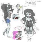 Marceline Sketches by BunnyGDx