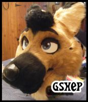 GShep Partial by DogSong