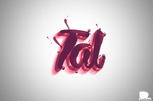 Tal - 3Dlogo by AmitFREAKDesign