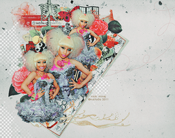 nicki minaj blend 58 by nikito0o
