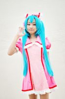 BBCC'13 - Nurse Miku by macross-n