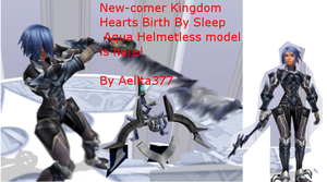 MMD New-comer Aqua! by Aelita377