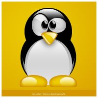 linux penguin by lucianowz