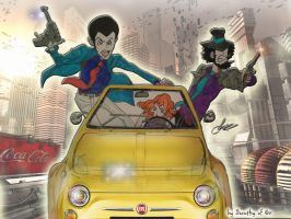 Incorrigible Lupin by Dorothy-of-Oz