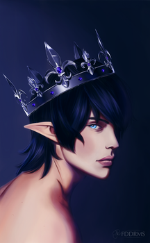 Aymeric, King of Ishgard by fadeddreamss