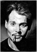 Johnny Depp by donchild