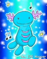 No. 194 Wooper by YuniNaoki
