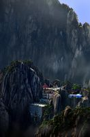 Huangshan -9 by DawnRoseCreation
