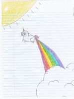 Works of the Past #9- Rainbow Fart xD by KandyKitty101
