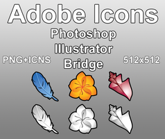 Adobe Icons by Zeptozephyr