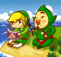 Windwaker - Tingle Island by Aviarei