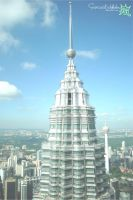 Petronas Twin Tower by sarcasticlullaby