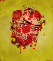 Bloody Lady by roberlan