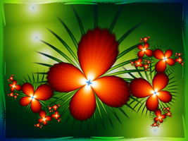 Flower craze by Lirulin-yirth