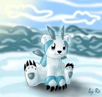 Polarus - the water starter by Reina-Kitsune