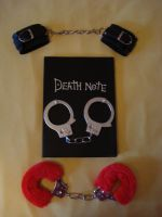 Death Note and handcuffs 4 by Lost-in-Death