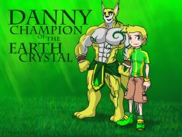 Danny Champion of the Earth Crystal by Penn92Evans