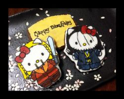 the hobbit : hello kili + fili birthday cookies by tencinoir