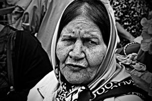 Old woman by mkrtchyan