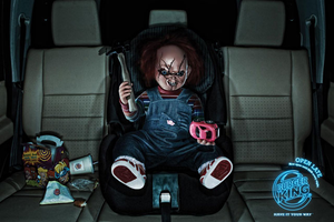 chucky at burger king!!! by aly3451