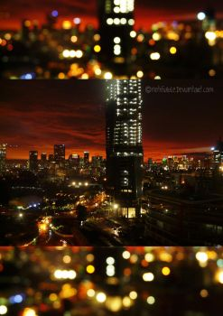 Jakarta's Blinding Lights by notifiable