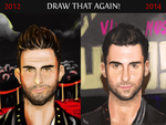 My drawing progression by blueisocean