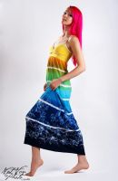 Rainbow Dress by NatVon