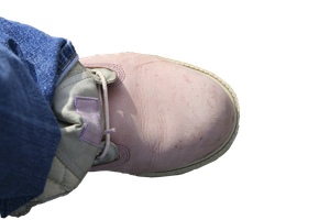 Left Female Pink Boot Stock 2 by Crematia18