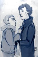 Happy Johnlock Day by KaijahM