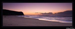 Dudley Beach Panoramic by robertvine