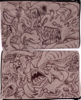 Pencil-case of AWESOME by Black-Charizard