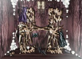 Hyde Lounge Window Display by MrSunnyBlack
