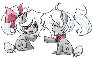 MLP - Chibi Mina and Miriana by haydee