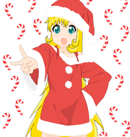 Marry Crismas with Zoey :3 by Amy-Kawata