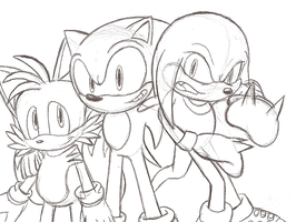 Teamsonic by flashthewolf