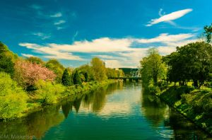 The River Taff_i by Horroromance