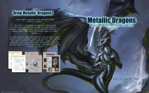 Metallic Dragons: Art Tutorial Book by The-SixthLeafClover