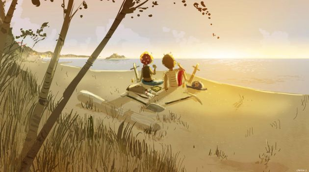 Buried Treasures by PascalCampion