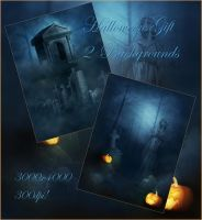 Halloween Gift backgrounds by moonchild-ljilja