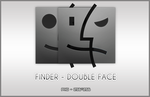 Finder Double Face by jerm-blueice
