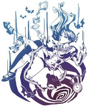 Fanime 2013 T-Shirt Design by bluessence