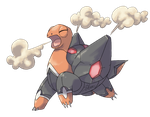 Mega Evolution: Torkoal by Kydeka