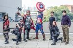 Avengers Assemble! At D*C 2014 by Lady-Skywalker