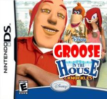 Groose in the House and Knuckles: The Video Game by Hyperdragon360