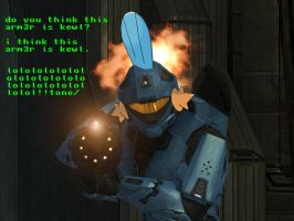 Mudkip-Recon Armor by jimmah93