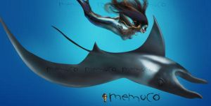 The Silent manta by memuco