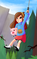 Mabel Pines by JadeyKayk