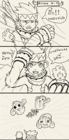 12Tails 4Koma - Mission 4-5 by ShinodaHamazaki