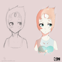 Pearl :Steven Universe: by ZolaLink